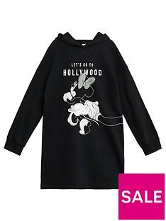 mango-girls-sequin-minnie-mouse-hooded-sweat-dress-black