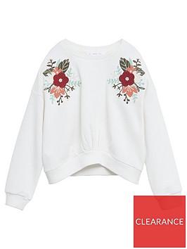 mango-girls-flower-embroidered-sweat-white