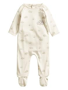 mango-unisex-baby-cloud-sleepsuit-cream
