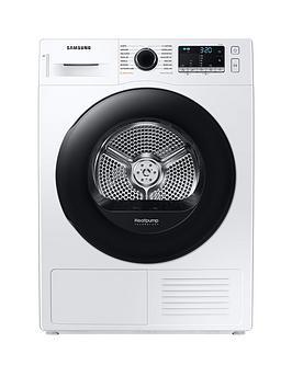 Samsung Series 5 Dv80Ta020Ae/Eu With Optimaldry 8Kg Heat Pump Tumble Dryer, A++ Rated - White