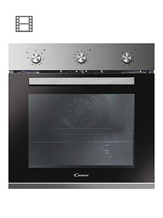 candy-fcp602xe-60cm-multifunction-oven--nbspstainless-steel