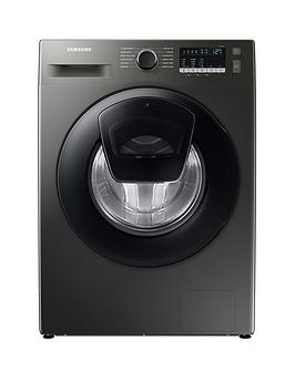 Samsung Series 5 Ww90T4540Ax/Eu With Ecobubble 9Kg Washing Machine, 1400Rpm, D Rated - Graphite