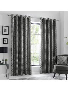 curtina-oriental-squares-eyelet-curtains-66x72