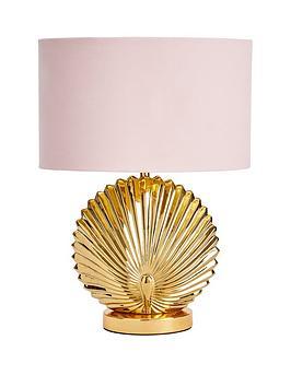 Shell Ceramic Table Lamp