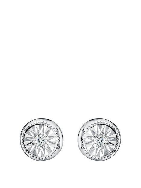 love-diamond-9ct-white-gold-diamond-set-stud-earrings