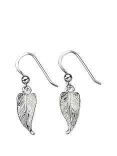 the-love-silver-collection-sterling-silver-leaf-drop-earrings