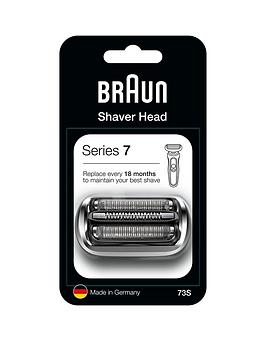 Braun Series 7 73S Electric Shaver Head Replacement - Silver