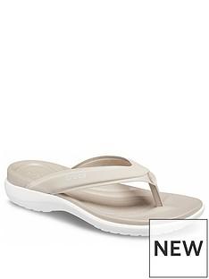 crocs-capri-v-sporty-flipnbspflop-stone