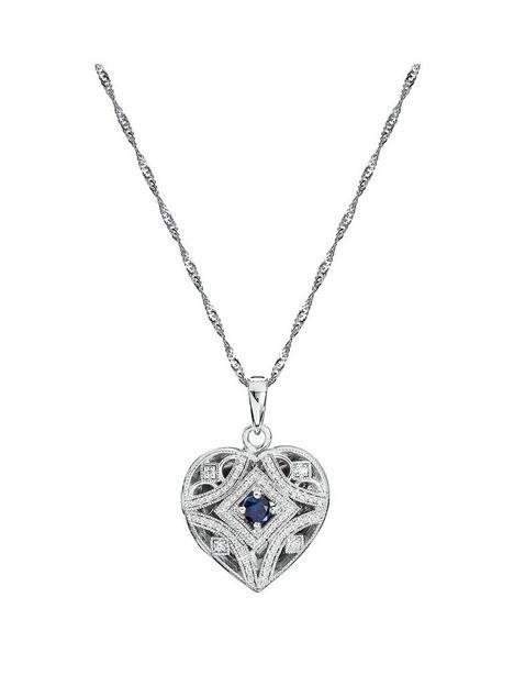 love-gem-silver-rhodium-plated-vintage-inspired-heart-created-sapphire-amp-diamond-pendant