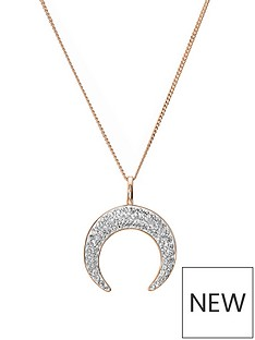 evoke-rose-gold-plated-sterling-silver-clear-swarovski-crystal-crescent-moon-pendant