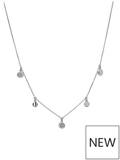 evoke-rhodium-plated-sterling-silver-clear-swarovski-crystals-disc-station-necklace