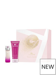 lacoste-lacoste-touch-of-pink-50ml-eau-de-toilette-100ml-body-lotion-gift-set