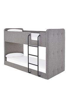charlie-fabric-bunk-bed-with-mattress-options-buy-and-savenbsp--grey