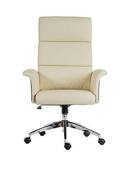 teknik-office-lincoln-high-back-office-chair-cream