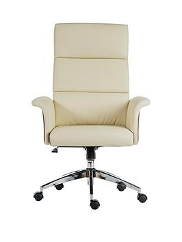 Teknik Office Lincoln High Back Office Chair - Cream