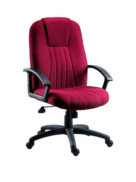 teknik-office-preston-fabric-office-chair-red