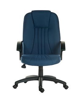 teknik-office-preston-fabric-office-chair-blue