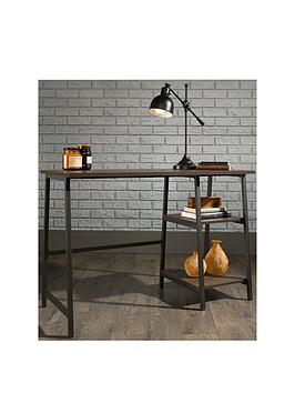 Teknik Office Chester Industrial Style Bench Desk