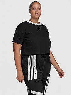 adidas-originals-crop-top-plus-size-black