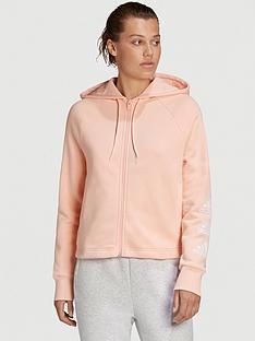 adidas-stacked-full-zip-hoodie-coral