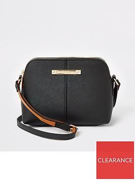 river-island-small-branded-cross-body-bag-black