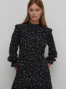 nobodys-child-rhian-frill-mini-dress-black