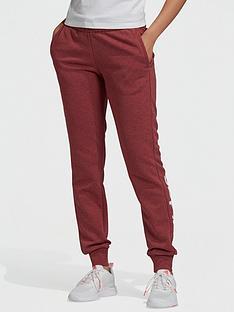 adidas-essentials-linear-pant-redwhite