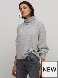 nobodys-child-roll-neck-jumper-grey