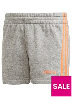 adidas-youth-girls-e-3-stripe-shorts