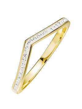 evoke-gold-plated-sterling-silver-clear-swarovski-crystals-wishbone-ring