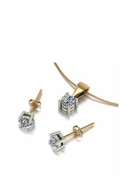 love-diamond-9ct-gold-1ct-total-diamond-pendant-and-earrings-jewellery-set