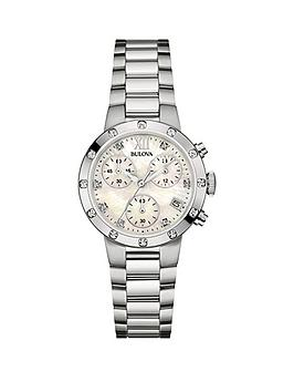bulova-mother-of-pearl-and-diamond-chronograph-dial-stainless-steel-bracelet-ladies-watch