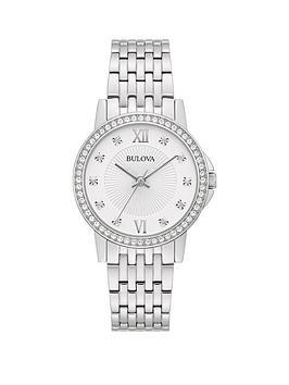bulova-silver-swarovski-crystal-set-dial-stainless-steel-bracelet-ladies-watch