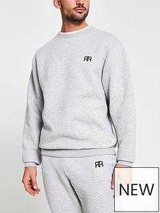 river-island-grey-quilted-sweat