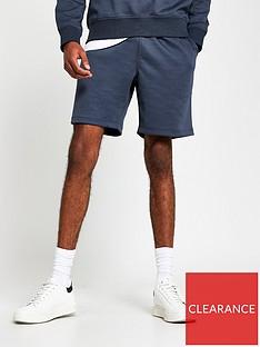 river-island-premium-essential-jersey-shorts-grey