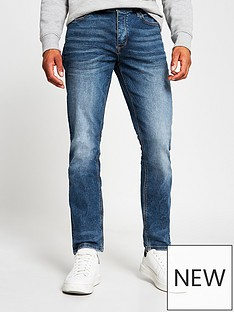 river-island-washed-slim-fit-jeans-blue