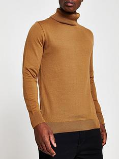 river-island-long-sleeve-roll-neck-t-shirt