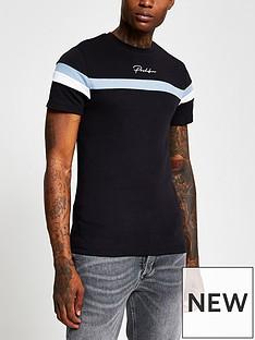river-island-prolific-logo-colour-block-t-shirt-black