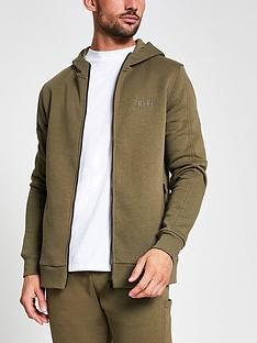 river-island-utility-zip-through-hoodie