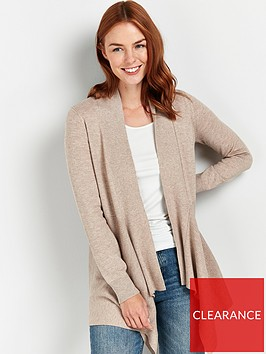 wallis-dipped-hem-cardigan-stone