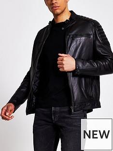 river-island-real-leather-racer-jacket-black
