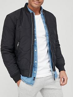 river-island-onion-stitch-bomber-jacketnbsp-black