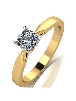 love-diamond-18ct-gold-050ct-diamond-solataire-engagement-ring