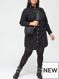 v-by-very-curve-denim-shirt-dress-black-wash