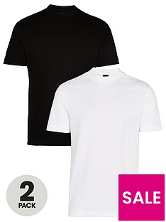 river-island-2-pack-regular-fit-t-shirt-multi