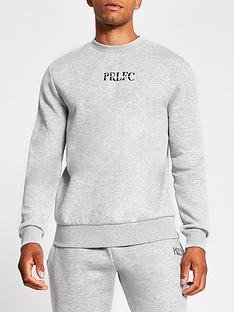 river-island-prolificnbspcrew-sweatshirt-grey-marl