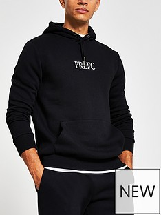 river-island-marl-prolificnbsphoodie-blacknbsp