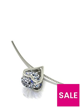 moissanite-9ct-white-gold-1ct-total-heart-pendant