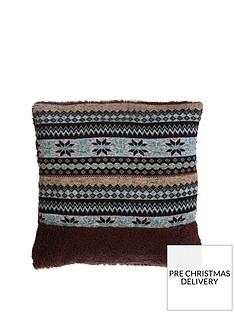 premier-housewares-heritage-fairisle-cushion