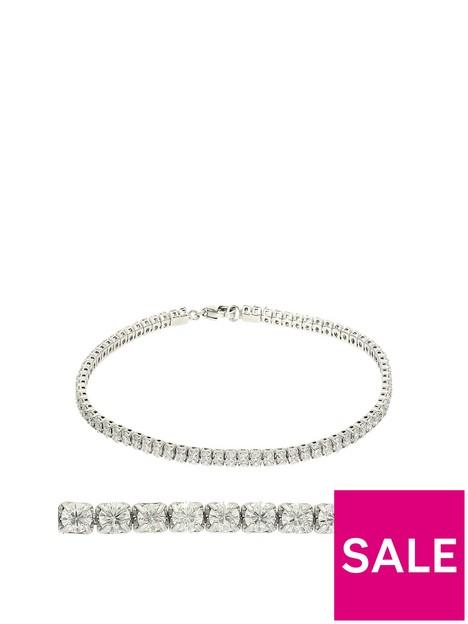 moissanite-moisssanite-9ct-white-gold-25ct-stone-tennis-bracelet